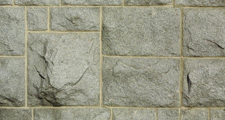 No todo tipo de piedra es bueno para todas las aplicaciones.