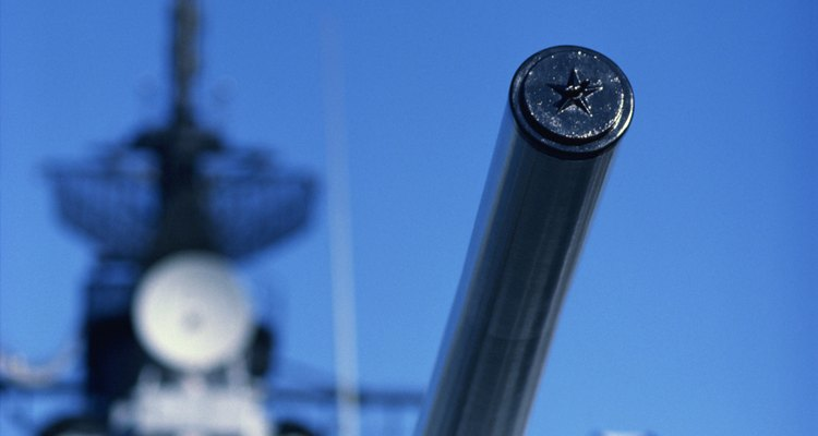 La flota naval de los británicos fue la más grande y la más fuerte en los comienzos de la guerra.
