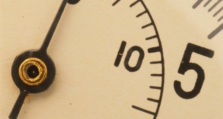 Puedes conseguir indicadores de presión de agua en cualquier tienda de artículos para el hogar.