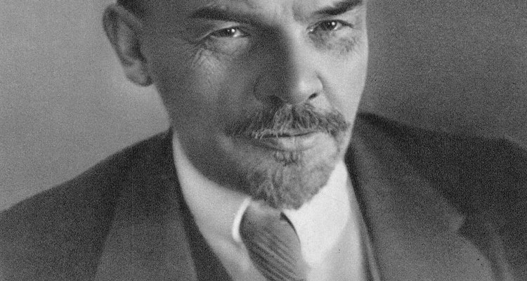 Conducidos por Lenin, los bolcheviques creían en la acción.