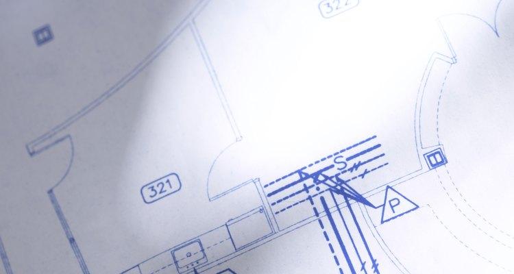 Usar diferentes tipos de linha ajudarão na identificação das partes comuns do desenho
