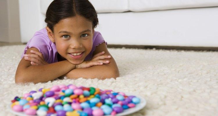 Esa delicia congelada con bolas de colores del tamaño de un guisante podría parecerse a un plato de Lucky Charms.