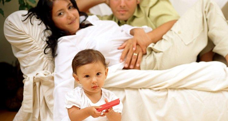 Conecta con tu pareja cuando los niños estén entretenidos.