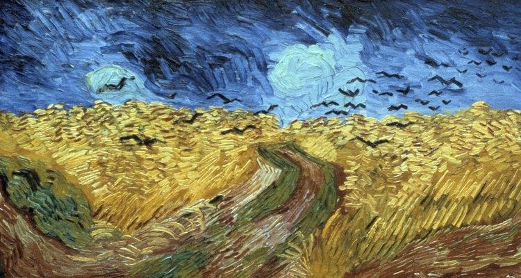 As pinturas a óleo têm uma aparência que é difícil de replicar com outras variedades de tinta