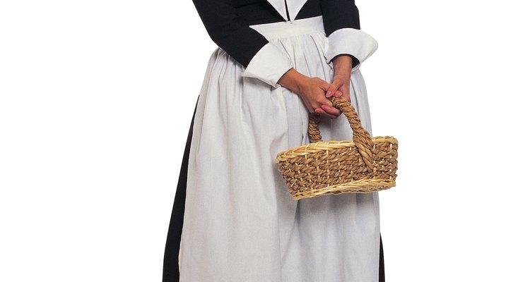 Las familias de la América colonial estaban ocupadas.