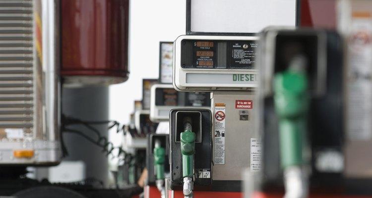 Tenha cuidado ao manusear óleo diesel