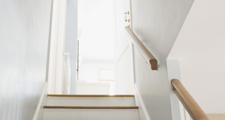 Linoleum flooring can only be installed on small stairwells.