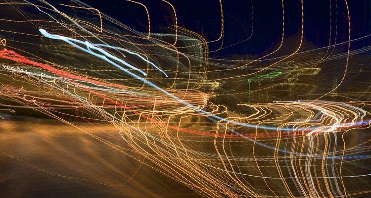 Las luces de neón se encuentran usualmente en clubes nocturnos.