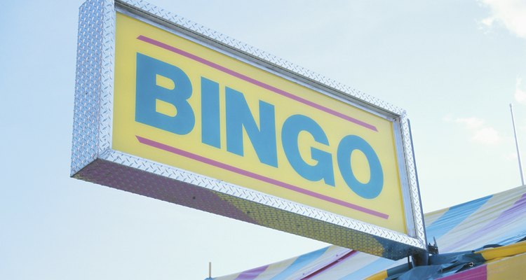 Jogo de bingo é sempre uma diversão