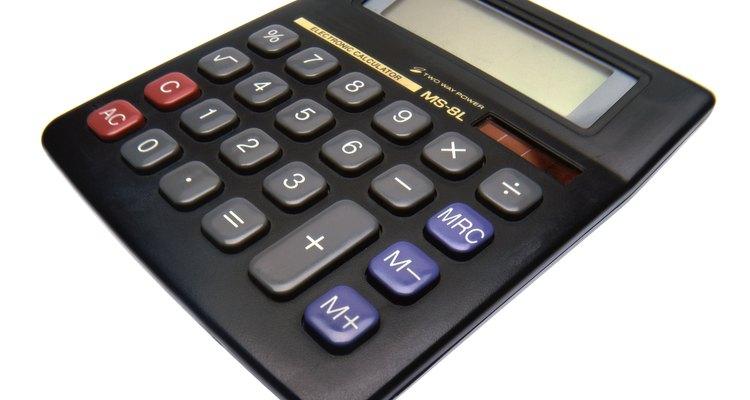 Utilize uma calculadora para facilitar as contas