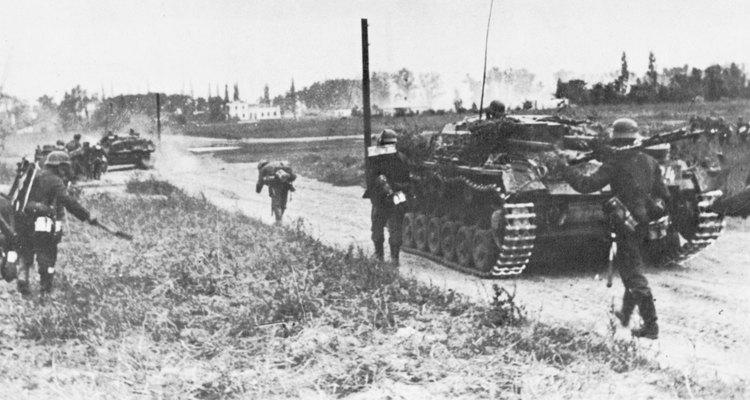 A invasão alemã da Polônia, em 1939, marcou o início da Segunda Guerra Mundial