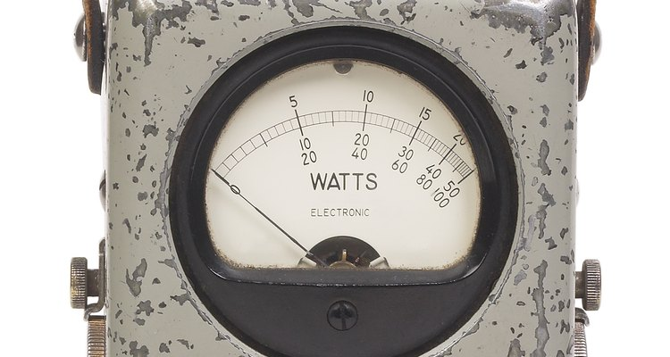 Determine the watts required by the circuit