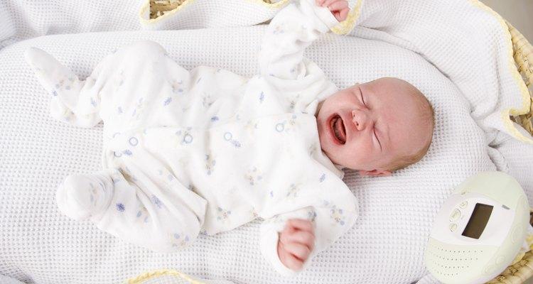 El llanto de un bebé es su primera forma de comunicación.