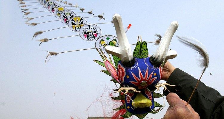 As pipas de dragão já foram utilizadas para afastar o inimigo na China.