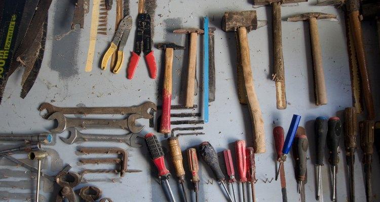 Los mazos de cuero crudo se utilizan para hacer cuero.