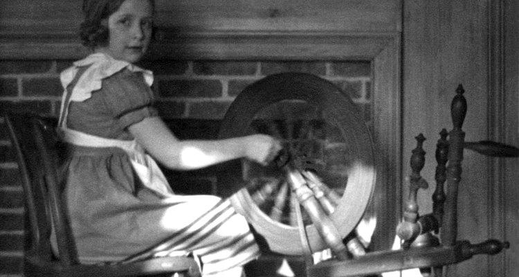 A roda de fiar revolucionou a produção de lã