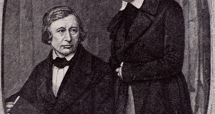 Os folcloristas alemães Jacob e Wilhelm Grimm ajudaram a estabelecer os contos de fadas como assuntos dignos de estudo acadêmico
