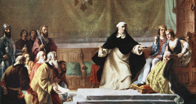 En España, el movimiento anti semítico se unió a la inquisición.