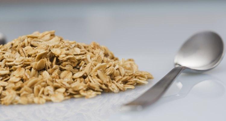 La avena es una buena fuente de proteínas y minerales.