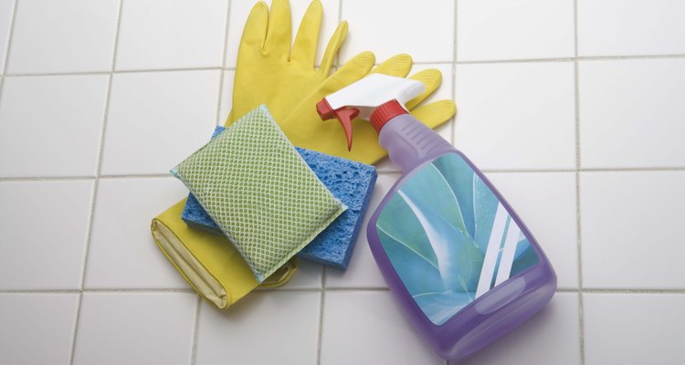 Clean your kid's bouncy castle with a homemade disinfectant.
