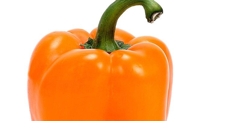 No importa que color de pimiento estés cosechando, alimentar a la planta correctamente es esencial.