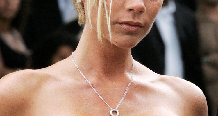 Victoria Beckham es una de las celebridades que figuran en la tendencia del bob asimétrico.