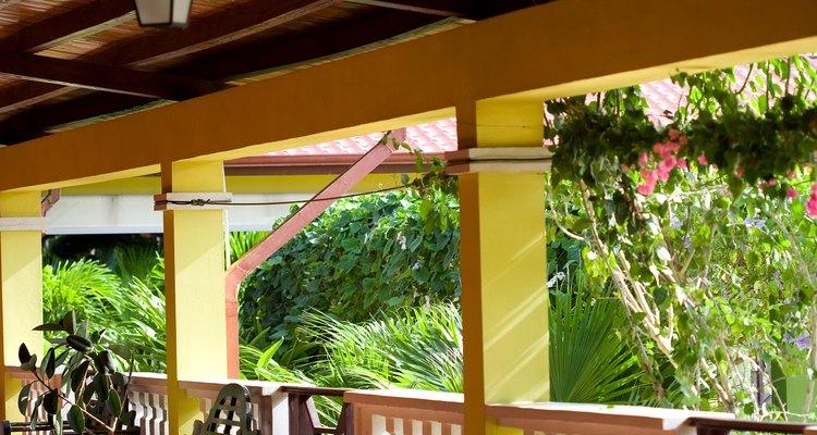 Construye tu propio techo para patio.