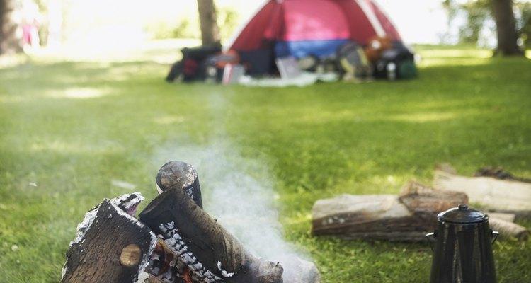 Áreas para acampar cerca de Greenville, Michigan.