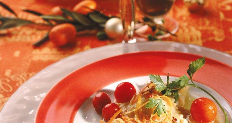 Cómo comer tomates cherry.