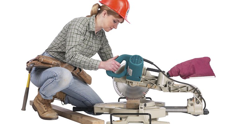 A mitre saw allows you to quickly and accurately make cuts at any angle.