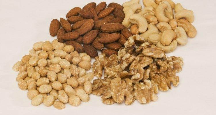 As castanhas podem ser substituídas por outras variedades