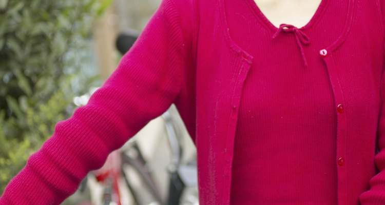 A smooth sleeve fit is one of the signs of a well-knit sweater.