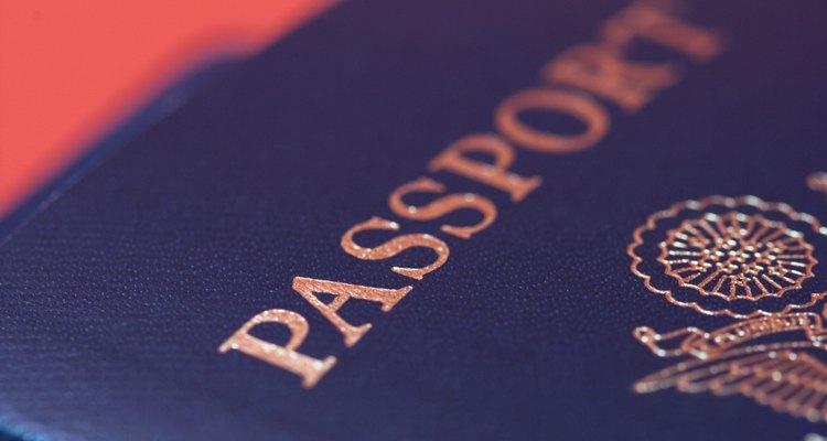 O número do seu passaporte é exigido para viagens internacionais