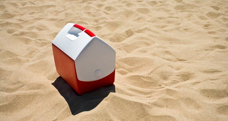Coolers são feitos de poliestireno