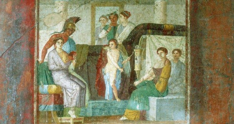 O segundo casamento de Afrodite foi com seu amante de longa data, Ares, o deus da guerra