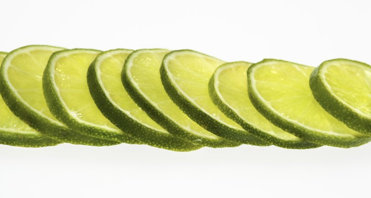 Lime slices overlapping