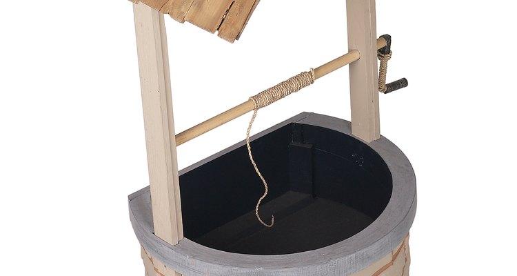 O pH na água de poços é devido a minerais que vazaram dos arredores