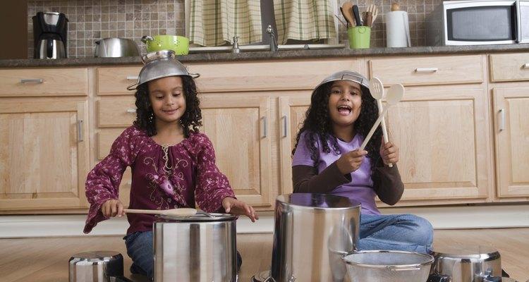 Actividades de percusión en jardín de infantes.