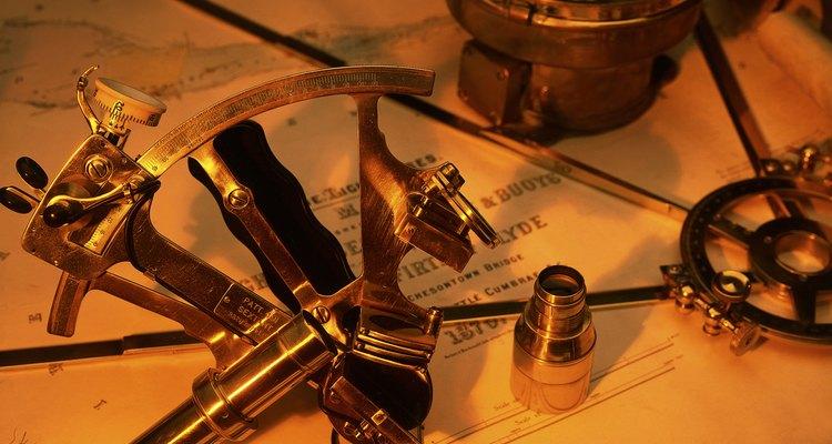 El sextante es una herramienta similar al antiguo cuadrante.