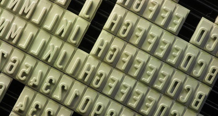Uma imagem vale mais que mil palavras, mas uma letra pode valer apenas 12 pontos