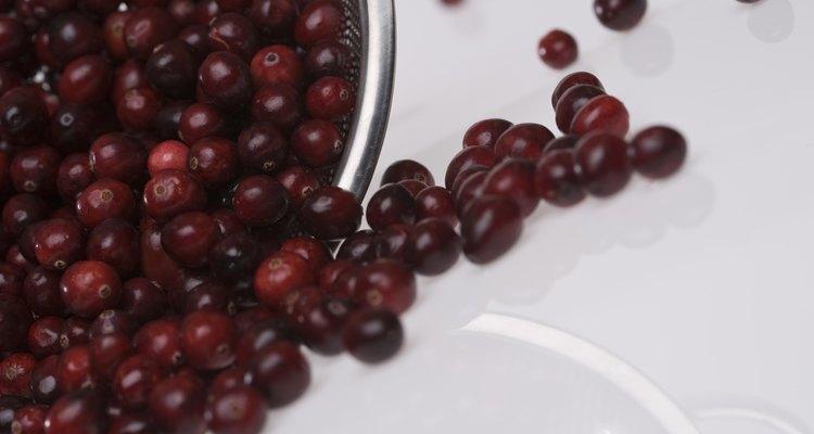 Los arándanos crudos y frescos pueden ser un agregado sabroso a todo tipo de platos.