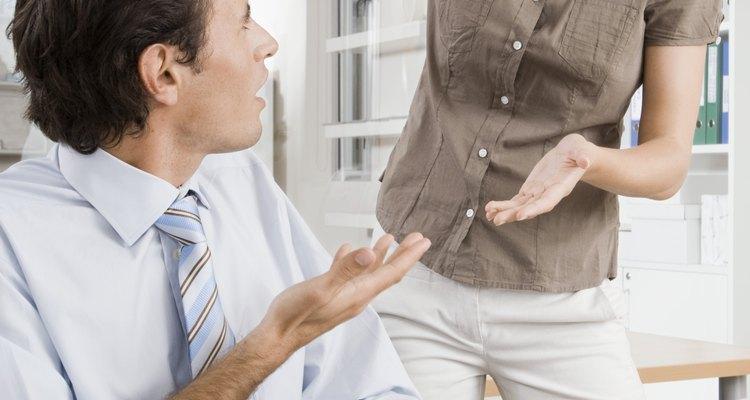 El conflicto laboral a veces requiere de la intervención de un jefe.