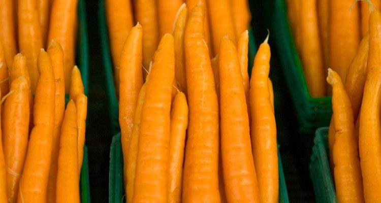 As cenouras são seguras na alimentação da maioria dos cavalos