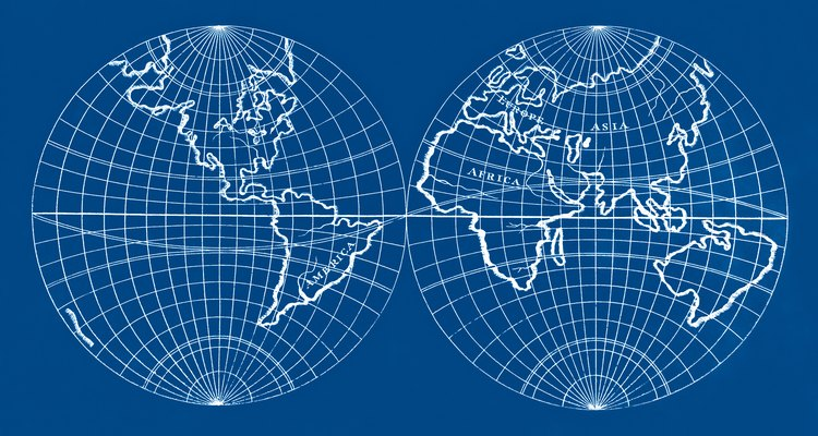 Longitude e latitude são coordenadas norte-sul e leste-oeste que especificam a posição na terra em medidas angulares