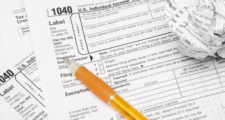 Formularios de impuestos.