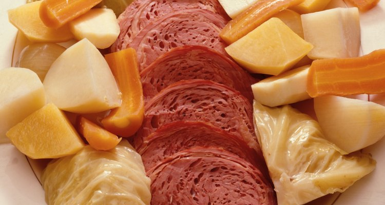 Store leftover salt beef in the refrigerator within two hours of cooking to prevent bacteria contamination.