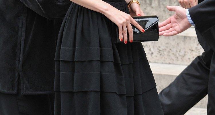 Yves Saint Laurent Funeral