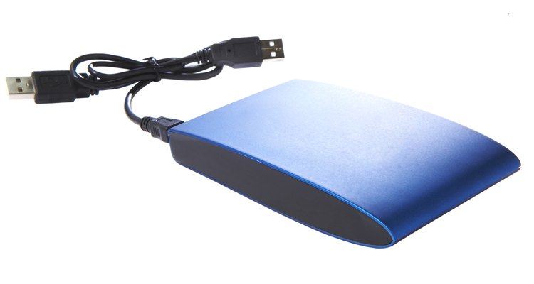 You can connect external hard drives to newer televisions.