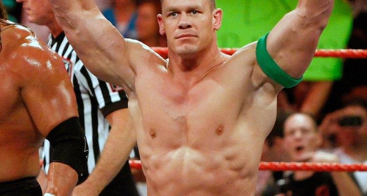 John Cena is a popular WWE wrestler.
