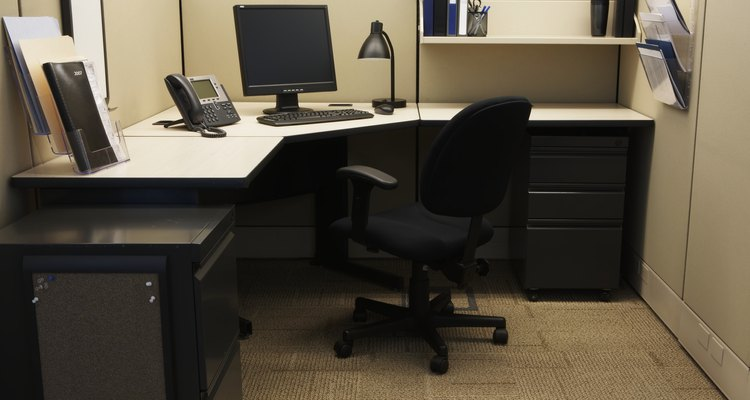 Modern desks have evolved to become highly functional work stations.